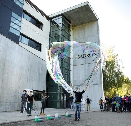 Une bulle de poésie au campus