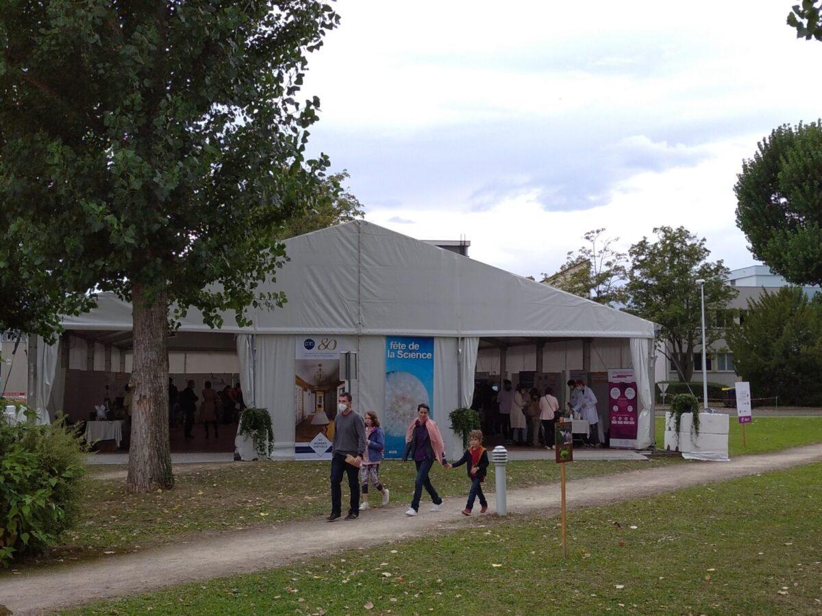 Espace Sadron • Le campus fête la science ! • Campus de Cronenbourg, Strasbourg • Fête de la Science 2021 © CNRS