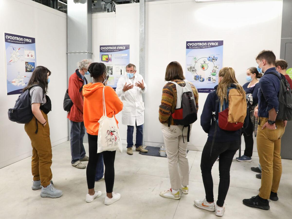 Visite du Cyclotron Cyrcé • Le campus fête la science ! • Campus de Cronenbourg, Strasbourg • Fête de la Science 2021 © Nicolas Busser, CNRS
