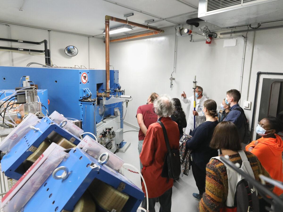 Cyclotron Cyrcé • Le campus fête la science ! • Campus de Cronenbourg, Strasbourg • Fête de la Science 2021 © Nicolas Busser, CNRS