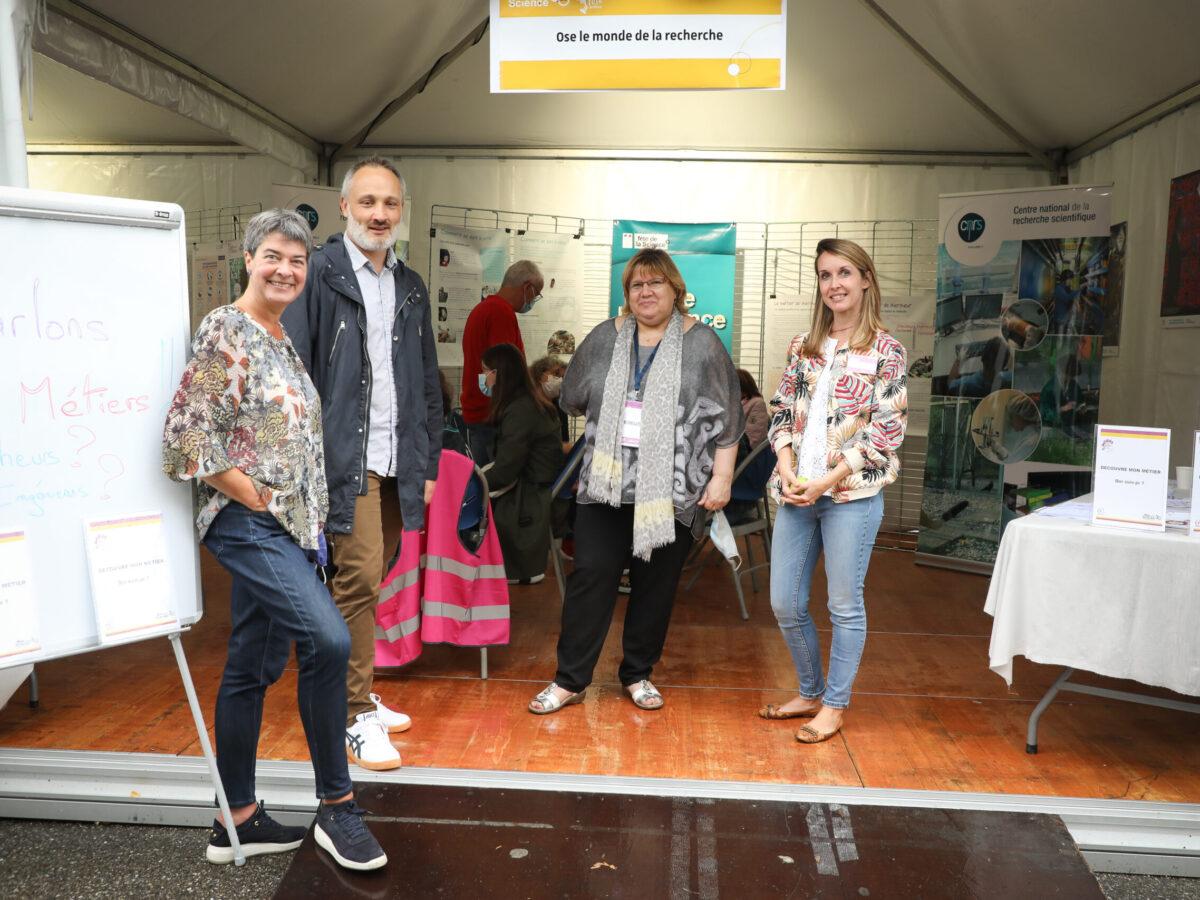 Ose le monde de la recherche ! • Le campus fête la science ! • Campus de Cronenbourg, Strasbourg • Fête de la Science 2021 © Nicolas Busser, CNRS