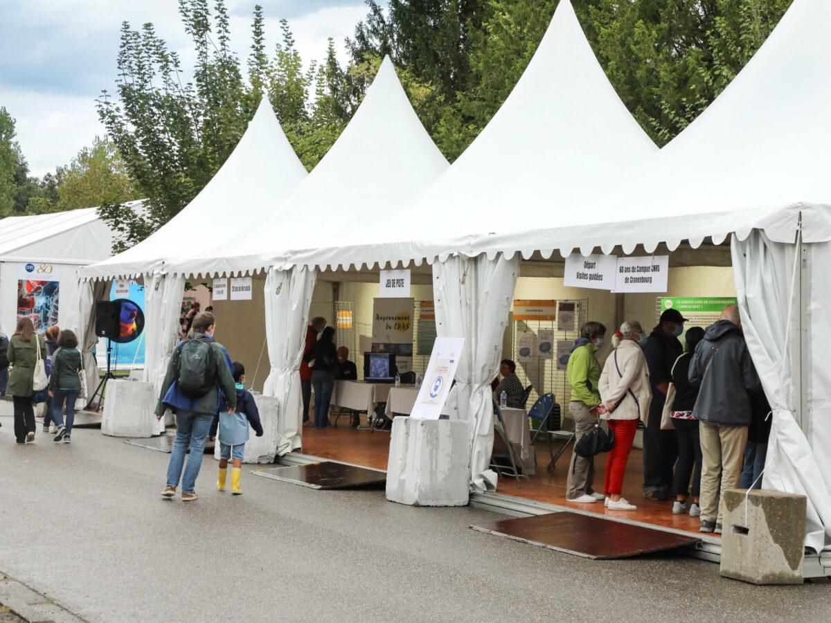 Espace Joliot • Le campus fête la science ! • Campus de Cronenbourg, Strasbourg • Fête de la Science 2021 © Nicolas Busser, CNRS