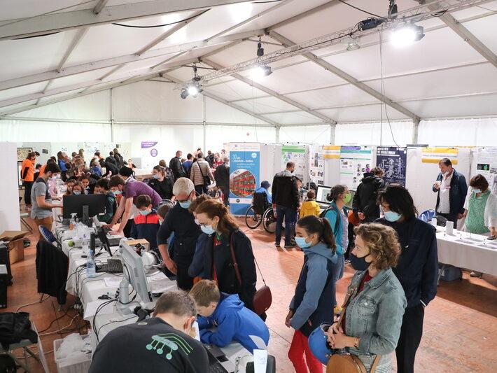 Espace Sadron • Le campus fête la science ! • Campus de Cronenbourg, Strasbourg • Fête de la Science 2021 © Nicolas Busser, CNRS