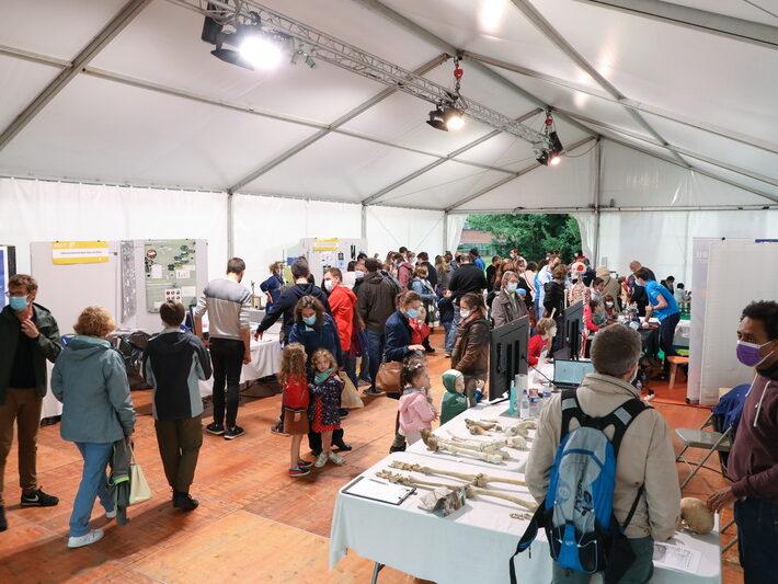 Espace Perey • Le campus fête la science ! • Campus de Cronenbourg, Strasbourg • Fête de la Science 2021 © Nicolas Busser, CNRS
